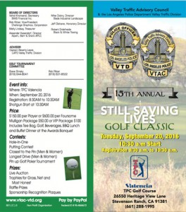 15th Annual Saving Lives Golf Classic @ TPC Valencia | California | United States