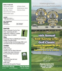 16th Annual Saving Lives Golf Classic @ Moorpark Country Club   Moorpark   California   United States